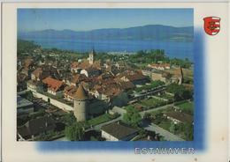 Estavayer-le-Lac, Au Bord Du La De Neuchatel - Photo: Gilbert Fleury - FR Fribourg