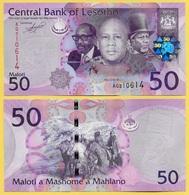 Lesotho 50 Maloti P-23a 2010  UNC - Lesotho