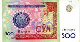 OUZBÉKISTAN - Central Bank Of Uzbekistan Republic - 500 Sum (1999) - Série АМ 8266680 - P.81 - SUP (circulé) - Uzbekistán