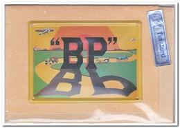BP, Blechkarte, Tin Kaart, Carte D'étain - Reclame
