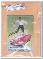 Messerschmitt, Blechkarte, Tin Kaart, Carte D'étain - Reclame