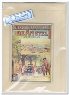 Beiersch Bierbrouwerij De Amstel, Tin Card, Blechkarte, Tin Kaart, Carte D'étain - Reclame