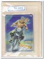 DKW, Tin Card, Blechkarte, Tin Kaart, Carte D'étain - Reclame