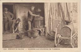 CPA Scènes De Savoie - Cidrerie Aux Environs De Thorens (très Belle Scène) - Thorens-Glières