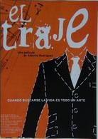 Folleto De Mano. Película El Traje. Eugenio José Roca. Manuel Morón. Vanesa Cabeza - Merchandising