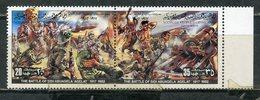 Y85 LIBYA. 1982 1053-1054 Resistance To Italian Colonization - The Battle Of Sidi Abuagel. HORSES - Militaria