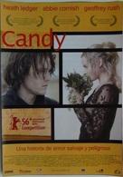 Folleto De Mano. Película Candy. Heath Ledger. Abbie Cornish. Geoffrey Rush - Merchandising