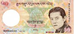 BHOUTAN - Royal Monetary Authority Of Bhutan - 50 Ngultrum 2008 - Série M 09886640 - P.31a - Peu Circulé - Bhutan