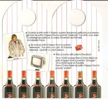LA FORTUNA VIEN SVITANDO CONCORSO FERRO-CHINA BISLERI 1986 - Alcolici