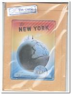 KLM Royal Dutch Airlines, Tin Card, Blechkarte, Tin Kaart, Carte D'étain - Reclame