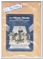 Nur Miele Miele, Tin Card, Blechkarte, Tin Kaart, Carte D'étain - Reclame