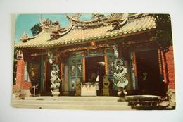 Taiwan - Wen-wu Temple , Sun Moon Lake  ASIA    VIAGGIATA  COME DA FOTO FORMATO PICCOLO - Taiwan