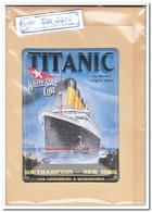 Titanic, Tin Card, Blechkarte, Tin Kaart, Carte D'étain - Reclame