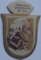 Emblema De Auxilio Social De 30 Cts De Marino Gravina, Trafalgar. Serie G. Nº 21. Guerra Civil Española. 1936-1939 - 1939-45