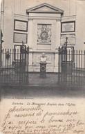 WATERLOO /  LE MONUMENT ANGLAIS DANS L EGLISE 1904 - Waterloo