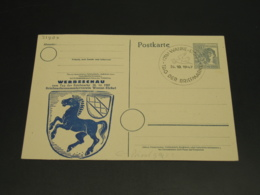 Germany 1947 Wanna Special Cancel On Postal Card *21809 - Unclassified