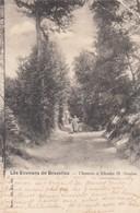 ST GENESIUS RODE / RHODE ST GENESE / CHEMIN AVEC FERMIERE  1901 - Rhode-St-Genèse - St-Genesius-Rode