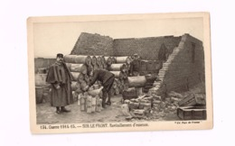 Guerre 1914-18.Sur Le Front.Ravitaillement D'essence. - Weltkrieg 1914-18