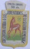 Emblema De Auxilio Social De 50 Cts De Sección Femenina Falange. Guerra Civil Española. 1936-1939. Bando Nacional - 1939-45