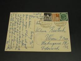 Germany 1951 Censored Postcard To Austria *22056 - Germany
