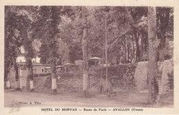 89 Yonne : Avallon : Route De Paris : Hotel Du Morvan . - Avallon