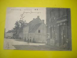 TRES BELLE CPA !! DEUX ACREN ( LESSINES ATH ) - RUE ST JERION ( ET RUE DE L'ORDRE ) ( VOIR TEXTE VERSO ) 1920 - Lessen