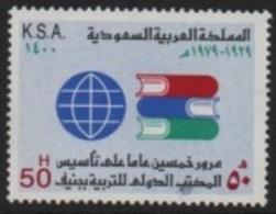 Saudi Arabia (K.S.A) 1980 (50th/e) International Education Office-Bureau International Education (BIE) Books/Livres ** - Arabia Saudita