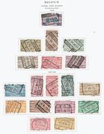 BELGIUM..parcel Post.. - Railway