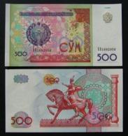 Uzbekistan 500 Sum 1999 UNC FdS - Uzbekistán