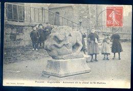 Cpa Du 22 Plouaret Anguiprède , Autrement Dit Le Cheval De St Mathieu   Sept18-09 - Plouaret