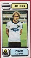 Panini Football 83 Voetbal Belgie Belgique 1983 Sticker Figurine Autocollant KSC Lokeren Nr. 197 Preben Larsen Denmark - Sport