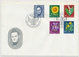 1961 Illustriertes Pro Juventute FDC Ohne Adresse - 188-192 / 742-746 - Pro Juventute