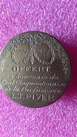 BOITE A POUDRE L.T. PIVER   EN LAITON 1924 - Produits De Beauté