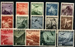 3745-Austria Nº 32/46 - Poste Aérienne