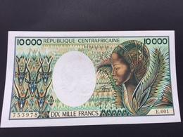 CENTRAL AFRICAN REPUBLIC P13 10000 FRANCS UNC - Centrafricaine (République)