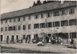 Crocetta, Cansiglio (Cornuda, Vittorio Veneto, Treviso): Osteria Al Cacciatore. Viaggiata 1958 - Treviso