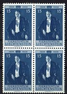 Liechtenstein 1956 // Mi. 349 ** 4er - Liechtenstein