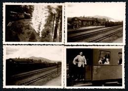 B7126 - 4 Foto - Eisenbahn Bahnhof Schierke Dampflok - Stazioni Senza Treni