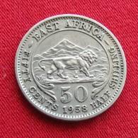 Africa East 50 Cents 1958 - Münzen