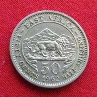 Africa East 50 Cents 1962 - Autres – Afrique