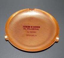 CENDRIERS VINTAGE EL PALMERAL - SPAIN - Métal