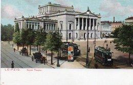 LEIPZIG-NEUES THEATER-1900-NON VIAGGIATA - Leipzig