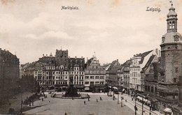 LEIPZIG-MARKTPLATZ-1900-NON VIAGGIATA - Leipzig