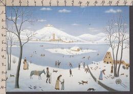 PL111/ Wilma LANGHAMER, Paysage D'hiver - Schilderijen