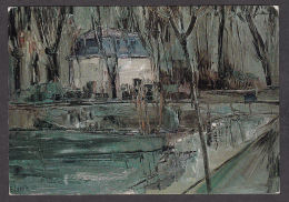 PL114/ Georges LAPORTE, *La Croisette à Givry* - Schilderijen