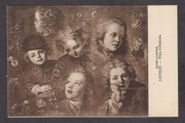 PL124/ Nicolas-Bernard LEPICIE, *Têtes D'enfants*, Musée D'Amiens - Schilderijen