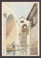 PL138/ LI SHA, *Die Djiau-Brücke In I-hsing* - Schilderijen