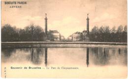 Souvenir De Bruxelles Le Parc Du Cinquantenaire - Bossen, Parken, Tuinen