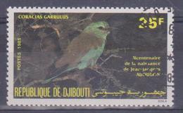 1985 Gibuti - 200° Ann. Della Nascita Dell'ornitologo Audubon - Gibuti (1977-...)