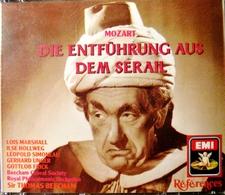 MOZART, Die Entfuhrung Aus Dem Serail. 2 Cds. E.M.I. 1990. - Oper & Operette